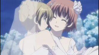 Hazumu se casa con Tomari