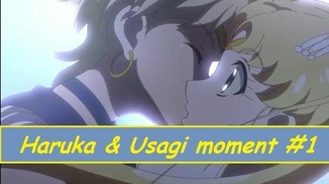 Haruka and Usagi moment 1 (Sailor Moon Crystal)