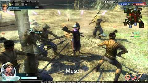 DWO Strategist Fan - Musou's