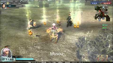 DWO Magic Staff - Musou's