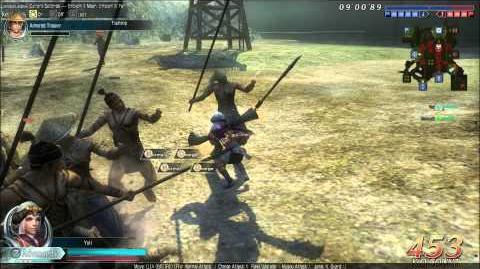 DWO Tyrant Sword - Move Set