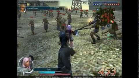 DWO Battle Axe - Move Set
