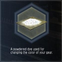 Powder-dye