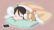 Ena Sleeping