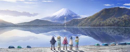 Yuru Camp Art