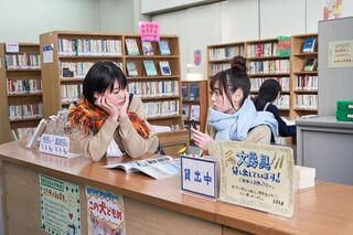 Sara Shida as Ena Saitou and Haruka Fukuhara as Rin Shima