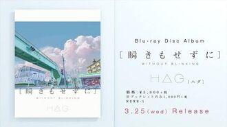 H△G(ハグ)Blu-ray Disc Album「 瞬きもせずに 」トレーラー映像【公式】