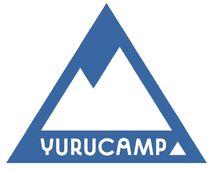 Yurucamp simple logo blue