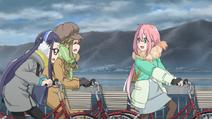 3 Nadeshiko rides too fast