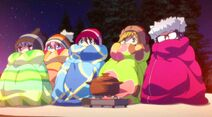 Nadeshiko with other members of the Secret Society BLANKET