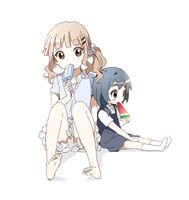 Offical art of kaede and sakurako
