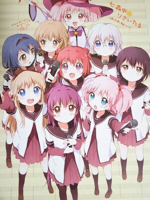 Yuruyuri characterss