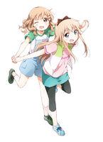 Kyoko and Sakurako