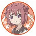 Akari Akaza Can Badge