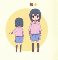 Kaede anime ref
