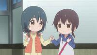 Kaede and Mari