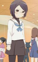 Yui cosplaying raika