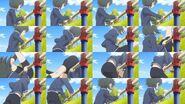 Yuru Yuri San Hai Episode 5 Back Hip Circle Scene