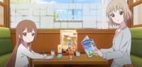 Nadeshiko and nanako looking kyoko like the idiot she is
