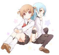 Raika kurumi and ganbo