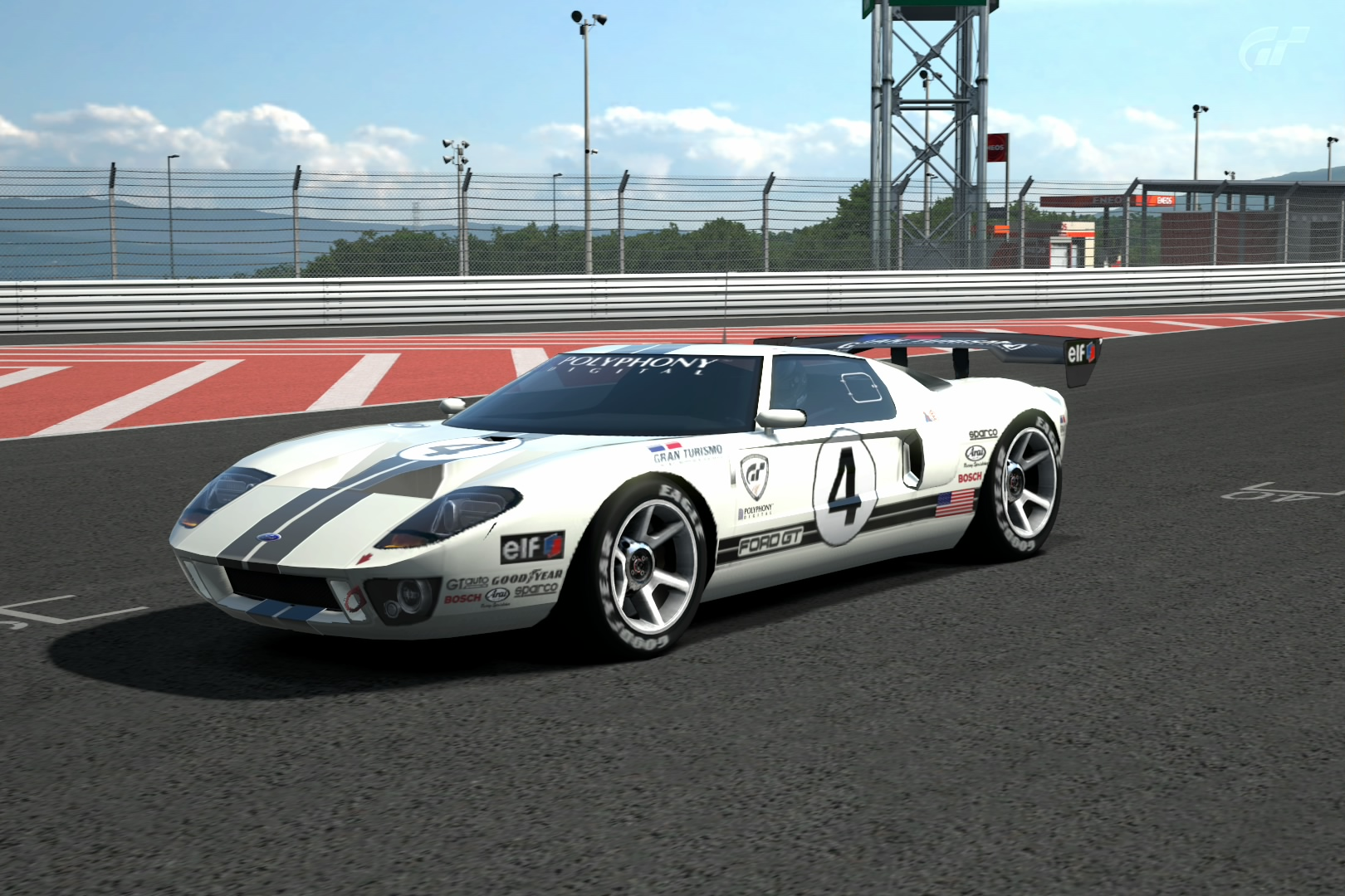 Ford Gt Lm Race Car Spec Ii