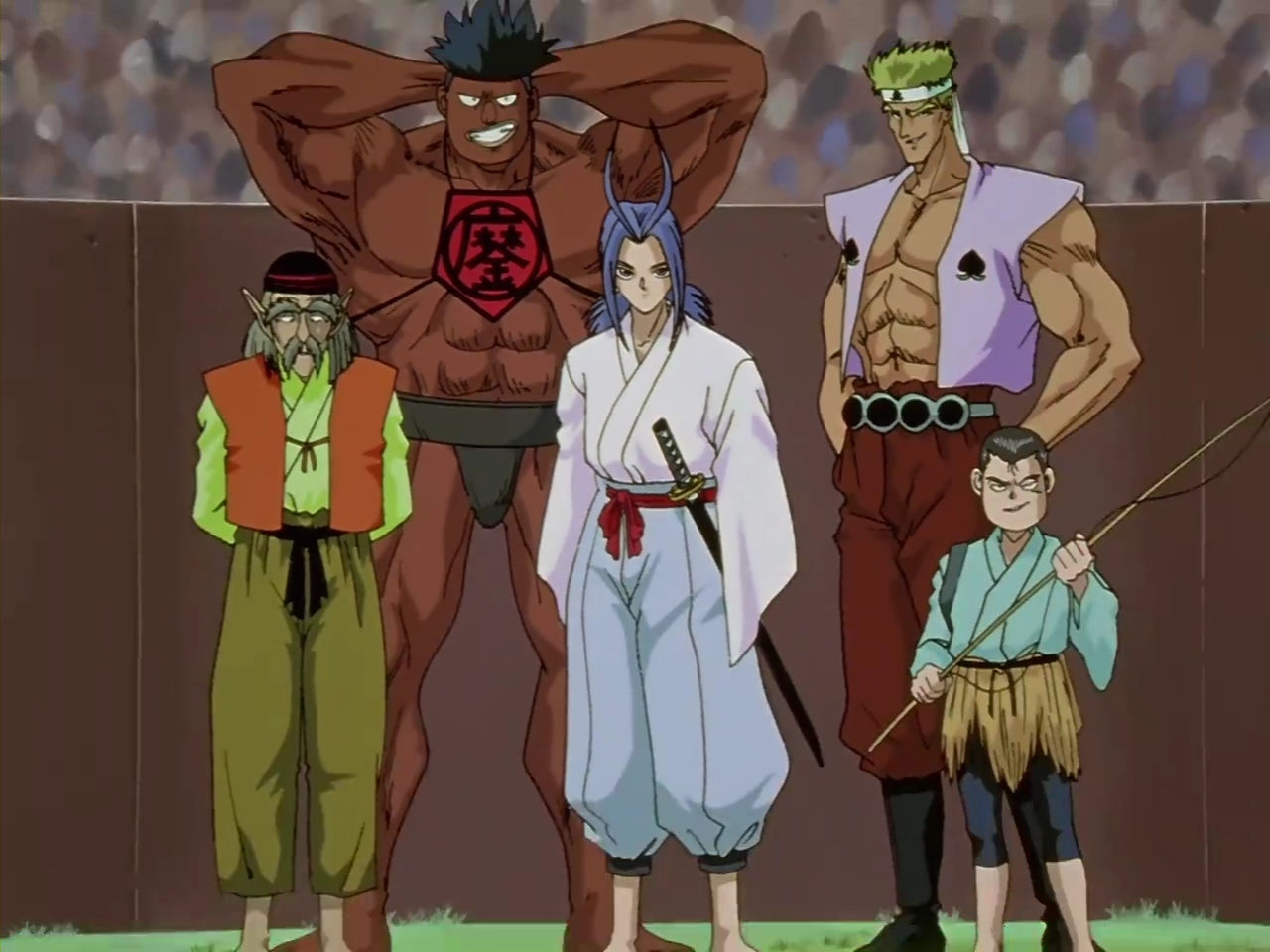 Team Uraotogi | YuYu Hakusho Wiki | FANDOM powered by Wikia