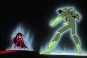 Sensui against Mazoku Yusuke start
