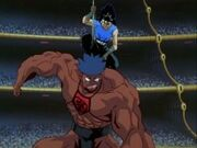 Hiei vs Makintaro