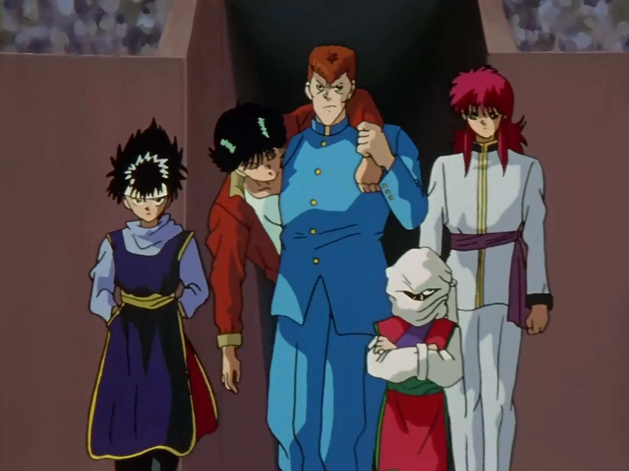 Resultado de imagem para yu yu hakusho team urameshi