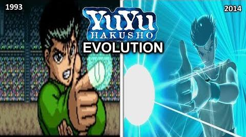 YU YU HAKUSHO GAMES -EVOLUTION (1993-2014)