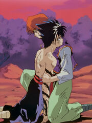 Hiei and mukuro