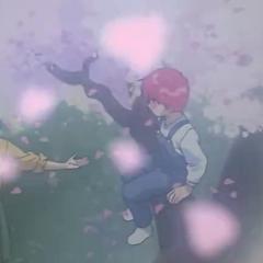 Kurama de niño con su madre