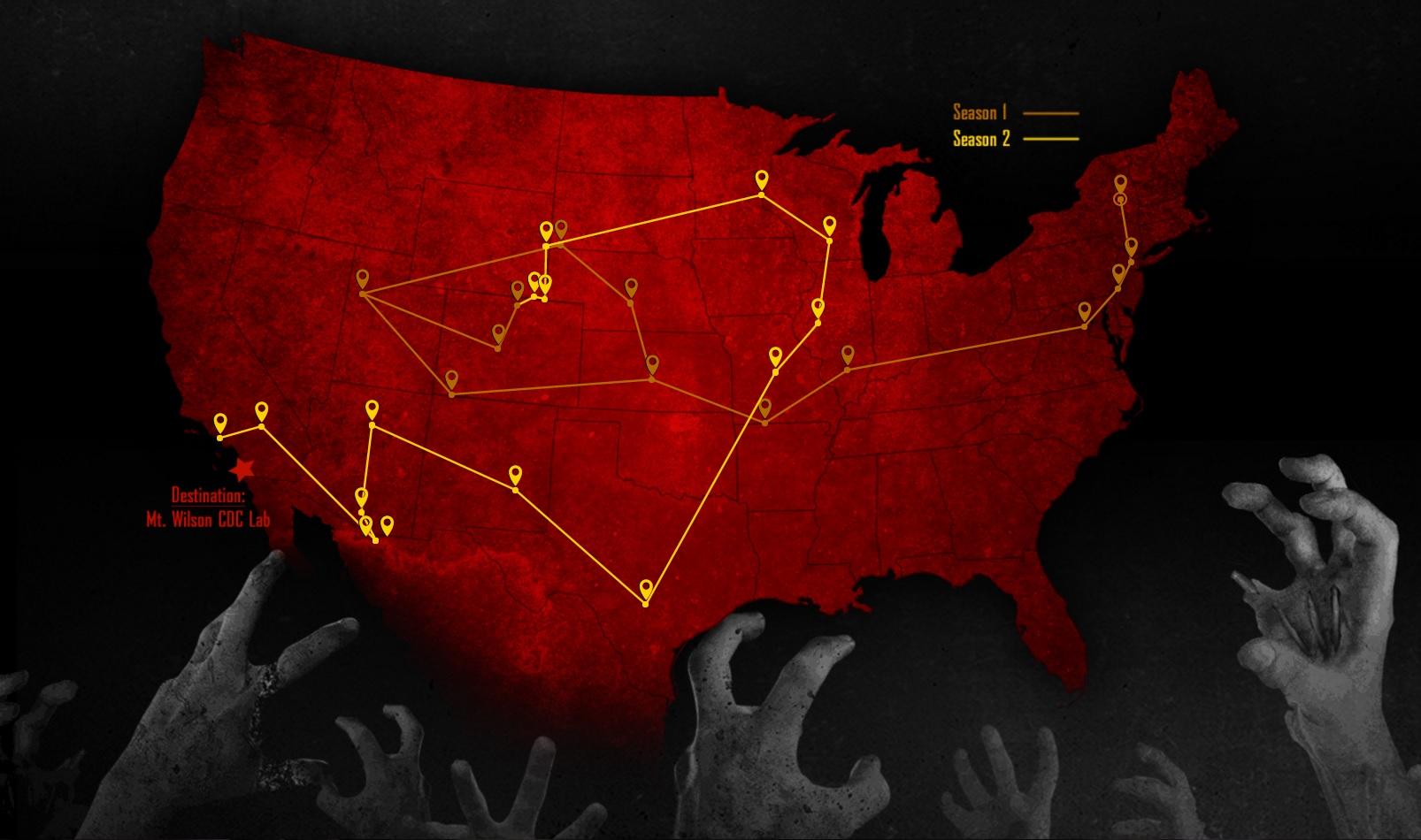 Image ZN Mapjpg Z Nation Wiki FANDOM Powered By Wikia - Journey map para minecraft 1 11 2