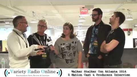 Z Nation Cast Interview - Walker Stalker Con 2014