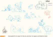 Mr. Men and Little Miss - Concept art 2