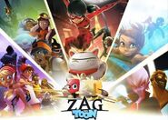 Zagtoon shows promotional artwork