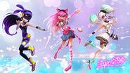 Superstar singing girls