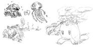 Sweet Power - Enemies sketch