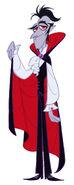 Transylmaniac - Vlad character design