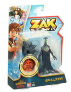 Zak Storm Skullivar Figure with Coin