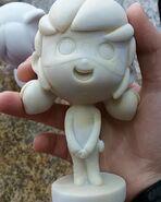 Chibi Ladybug sculpture WIP