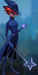 Pixie girl sorcerer