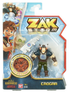 Zak Storm Crogar Figure with Coin