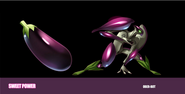 Sweet Power - Eggplant Bot concept art