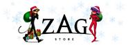 ZAG Store Christmas logo
