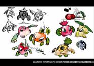 Sweet Power - Fruitbots concept art