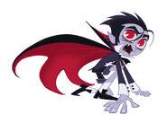 Transylmaniac - Drake character design (Vampire)