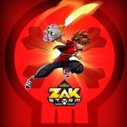 Zak Storm and Calabrass ZAG Heroez promotional artwork