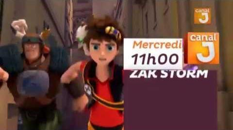 Zak Storm Super Pirate l'avant première