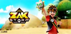 Zak Storm character promo art